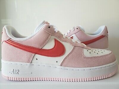 Nike Air Force 1 07 QS Valentine's Day Love Letter Size 7-13 DD3384-600 | eBay