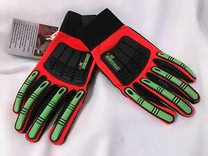 NWT-KNUCKLEHEAD-X10-Mens-034-Armor-Skin-034-XXL-Work-Gloves
