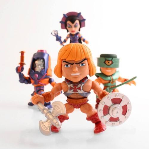 Metallic SDCC Exclusive Masters of the Universe Action Vinyls Loyal Subjects