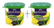 My Shaldan Car/Home Gel Based Air Freshener Lime (Pack of 2)