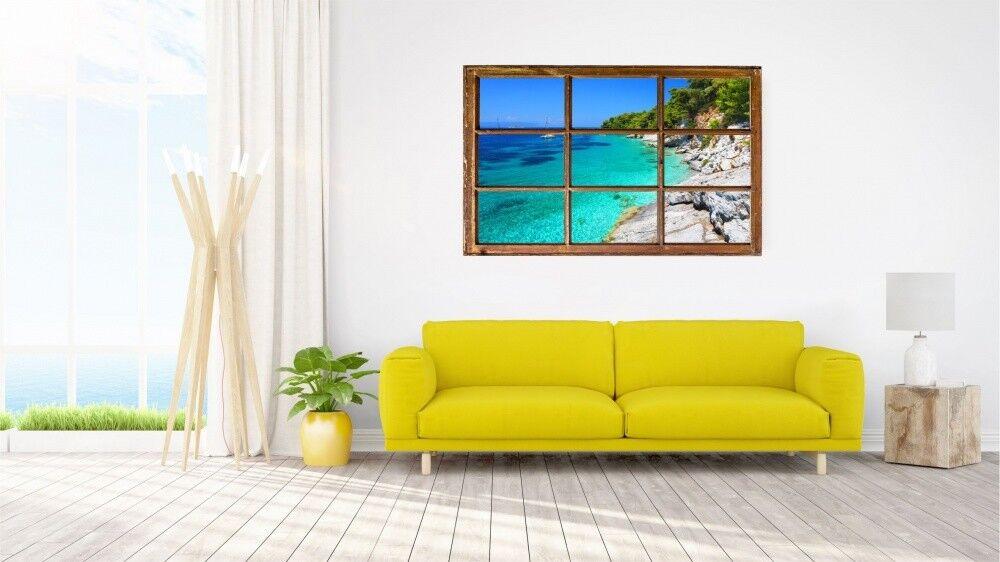 Baia Mare Spiaggia Spiaggia Spiaggia Rocce Muro Tatuaggio Parete Adesivo Parete Adesivo h0265 41e72b