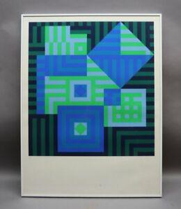 Victor VASARELY Ungarn 1906-97 Paris - OP ART Komposition - Sammlungsauflösung