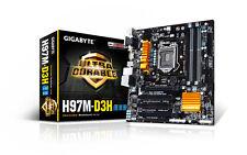 GIGABYTE GA-H97M-D3H LGA 1150 Intel H97 HDMI USB 3.0 Micro ATX Intel Motherboard