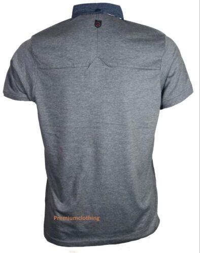 Mens Duck and Cover Polo T Shirt Short Sleeve Collard Pique Polo Original Xmas