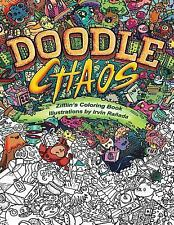Zifflins Coloring Book Doodle Chaos By Zifflin 2016 Paperback