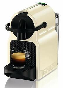 19 bares color crema apagado autom/ático Cafetera monodosis de c/ápsulas Nespresso Nespresso DeLonghi Inissia EN80.CW