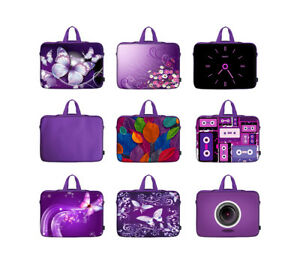 16e2354609ee Details about Purple Laptop Computer Sleeve Bag Fit Asus Dell HP Acer 15