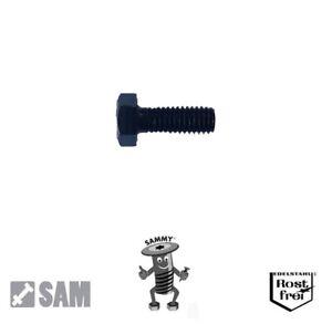 10 Stk Sechskantschrauben nach DIN 933 oder DIN 931 mit Schaft M 6x35, DIN 933