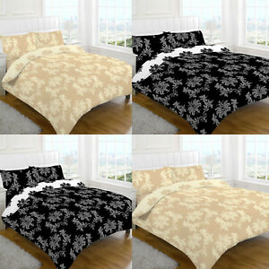 Complete Duvet Cover Set With Matching Valance Bedding Sheet Single Double King