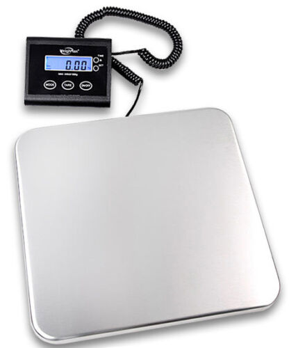 Weighmax 150Lbs Digital Shipping Postal Scale With AC Adaptor 68 KG