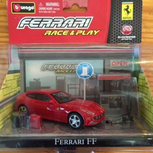 Bburago-Race-amp-Play-Ferrari-FF-limited-edition-collectable-licenced-product