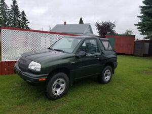 2000 Vitara convertible