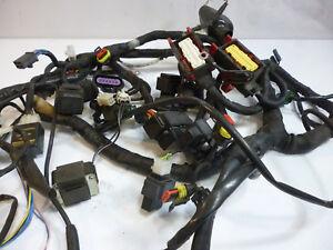 2013 aprilia shiver sl750 complete main wiring harness relays fuse oem 2007 16 ebay. Black Bedroom Furniture Sets. Home Design Ideas