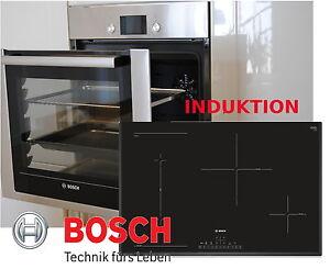 ... Backwagen Bosch Einbau Herdset Autark Backofen Induktion Kochfeld