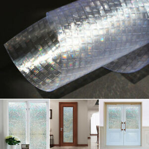 Waterproof-Frosted-Privacy-Home-Bathroom-Window-Glass-Self-Adhesive-Film-Sticker