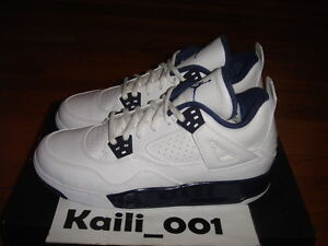 d92667bd24f992 Nike Air Jordan 4 Retro BG GS Size 6Y 408452-107 Columbia Legend ...