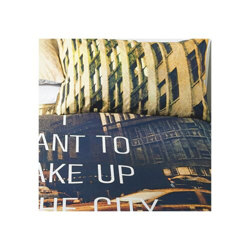 NYC I want to Wake Up to New York Manhattan SINGLE Duvet Cover 1 Pillowcase