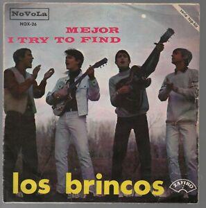 Los-Brincos-Mejor-I-try-to-find-7-034-Single-1966-Bravos