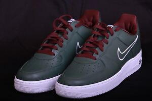 huge discount d6f7b bf55a Image is loading Nike-Air-Force-1-Low-Retro-Forest-White-