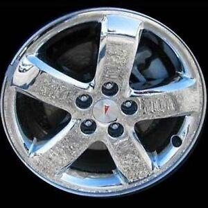 Brand New 17 Quot X 7 Quot Pontiac G6 Alloy Chrome Wheel Rim 2005