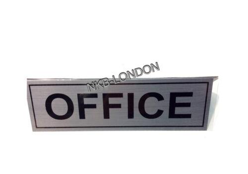 Silver Metal Pub Shop Business Toilets Letterbox Front Door Signs Notice Plates