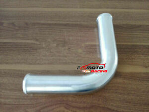 2-25-034-57mm-90Degree-Aluminum-Turbo-Intercooler-intake-Pipe-Piping-Tubing-L-600mm