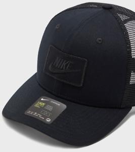 expedido defensa lineal  Nike Classic99 Trucker Hat Snapback Mesh Cap Back Panels Nike Panel Logo  Unisex | eBay