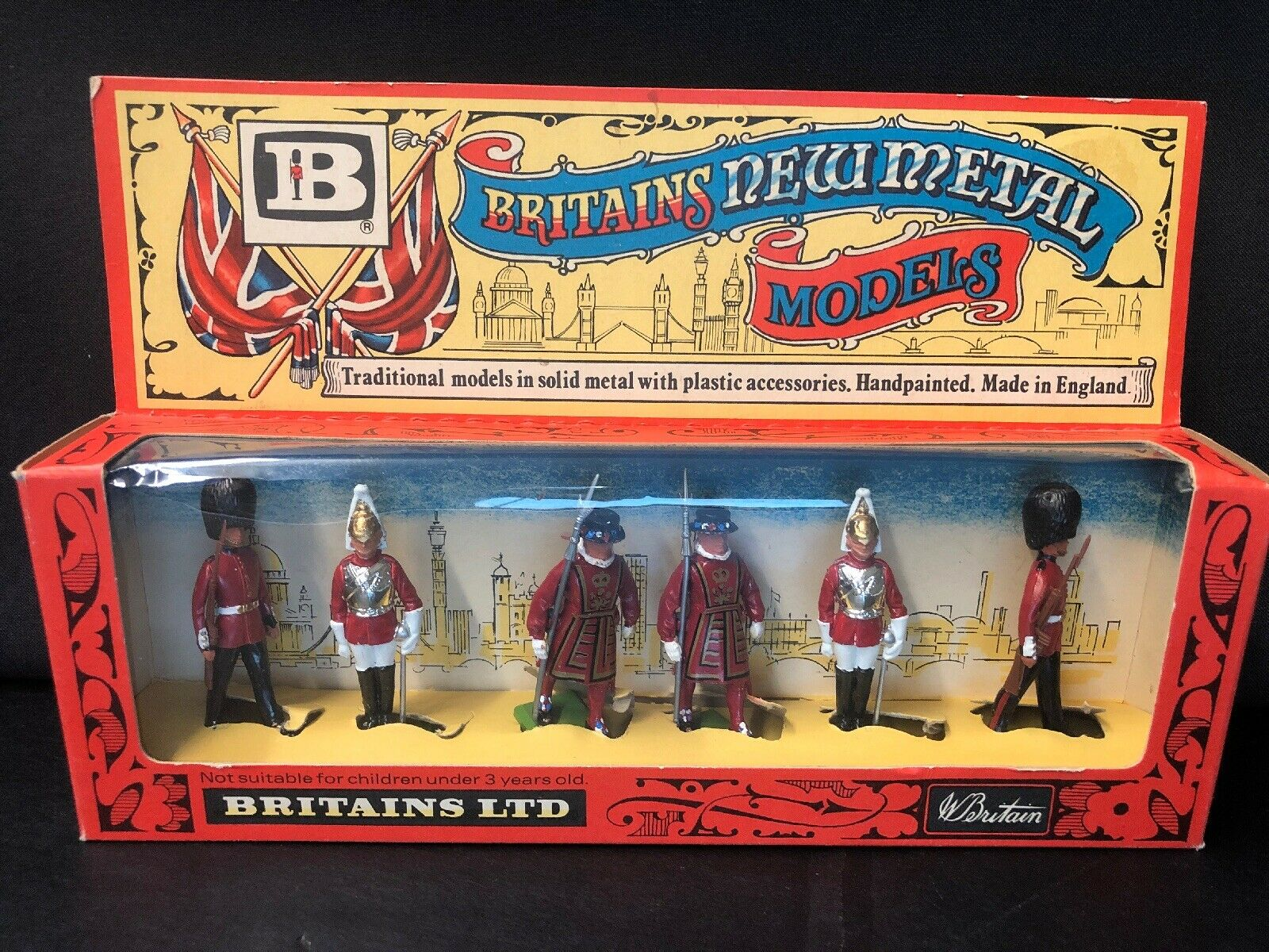 BRITAINS 7225 NEW METAL CERMONIAL MODELS TOY SOLDIERS 1976 54mm scale