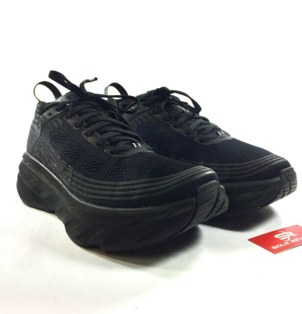 new arrivals 4acd0 6e733 wNEW! Mens (D,M) HOKA ONE ONE BONDI 6 Running Shoes BLACK / ANTHRACITE Bant