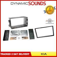 CTKKI29 Single//Double DIN Stereo Facia Fitting Kit Silver For Kia Sportage 2011/>