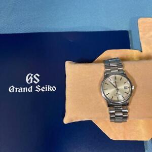 Seiko-Grand-seiko-Quartz-Mens-Watch-Authentic-Working