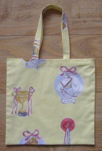 Tote Bag Book Bag LEMON CAVALLI STAMPA COTONE SHOPPING BAG