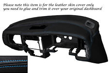 Punto azul Dash Dashboard Leather Piel tapa se ajusta Mitsubishi L200 K74 98-06