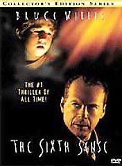 The Sixth Sense DVD, 2000, Collector s Series  - $0.29