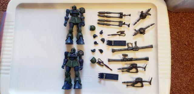 MSIA mobile suit in action MS-05B Zaku I Battle Scarred Gundam Figure 0079