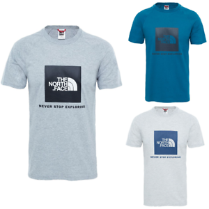 THE-NORTH-FACE-TNF-Raglan-Red-Box-T-Shirt-Short-Sleeve-Tee-Mens-New-All-Size