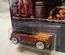 "Hot Wheels CUSTOM VOLKSWAGEN TYPE 181 ""HALLOWEEN"" Real Riders Limited 1/25 Made!"