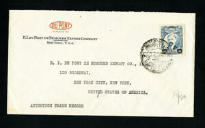 Mexico-Cover-1920-w-Stamp-Advertising-DuPont-Co-to-NYC