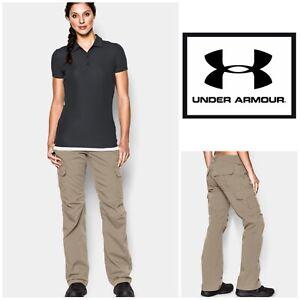 Under Armour Women/'s UA Tactical Patrol Pants Water Resistant Bayou 1254097 251