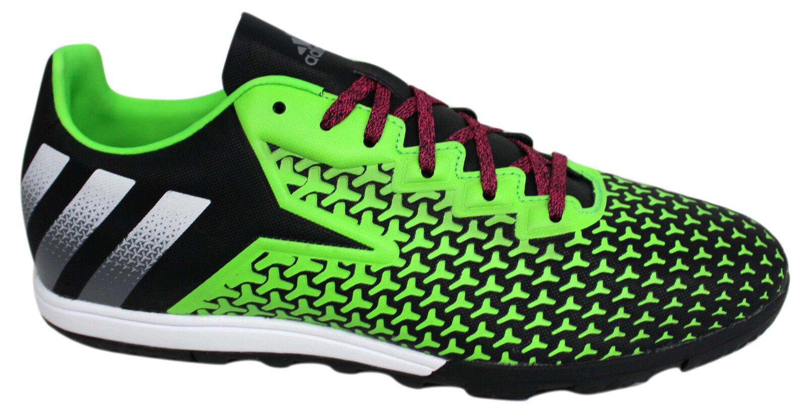 Adidas Ace 16.2 CG verde Nero con Lacci Uomo Calcio Scarpe Sportive AF5295 B37A