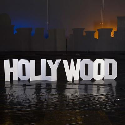 HOLLYWOOD HILLS LETTER STANDEES * hollywood theme party decorations * movies * s