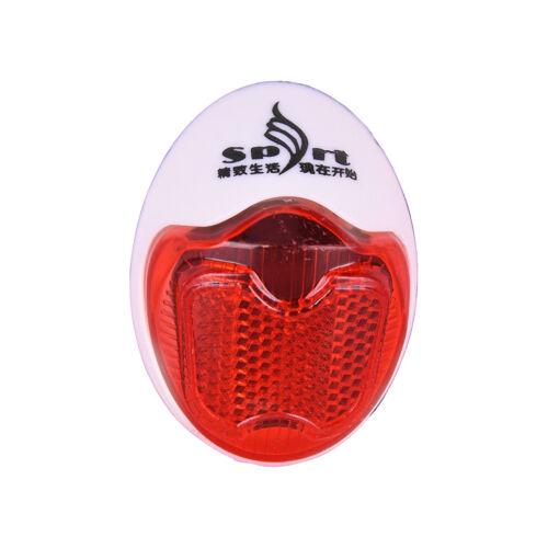 Bike Rear Fender Safety Warnning Reflector Tail Cycling Warning Light VGCA