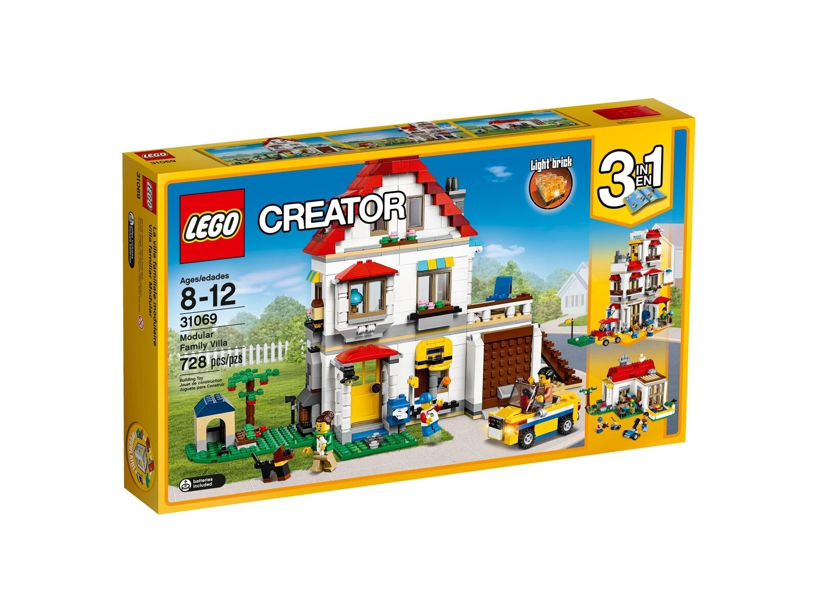 Lego Creator 3-in-1-Sets 31069 Familienvilla New Ovp Misb