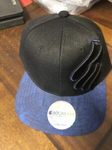 a8bfd5e7ade Rocawear SnapBack Hat Cap New With Tags Jay Z Hip Hop Black Blue ...