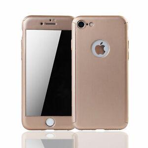Apple IPHONE 8 Etui pour Téléphone Mobile Étui de Protection 360 Full-Cover Tank