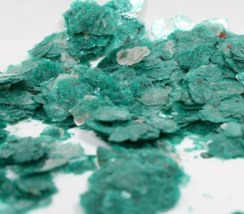1 kilo CHIPS 2.2 pounds Natural Mica LARGE FLAKES Mica Green