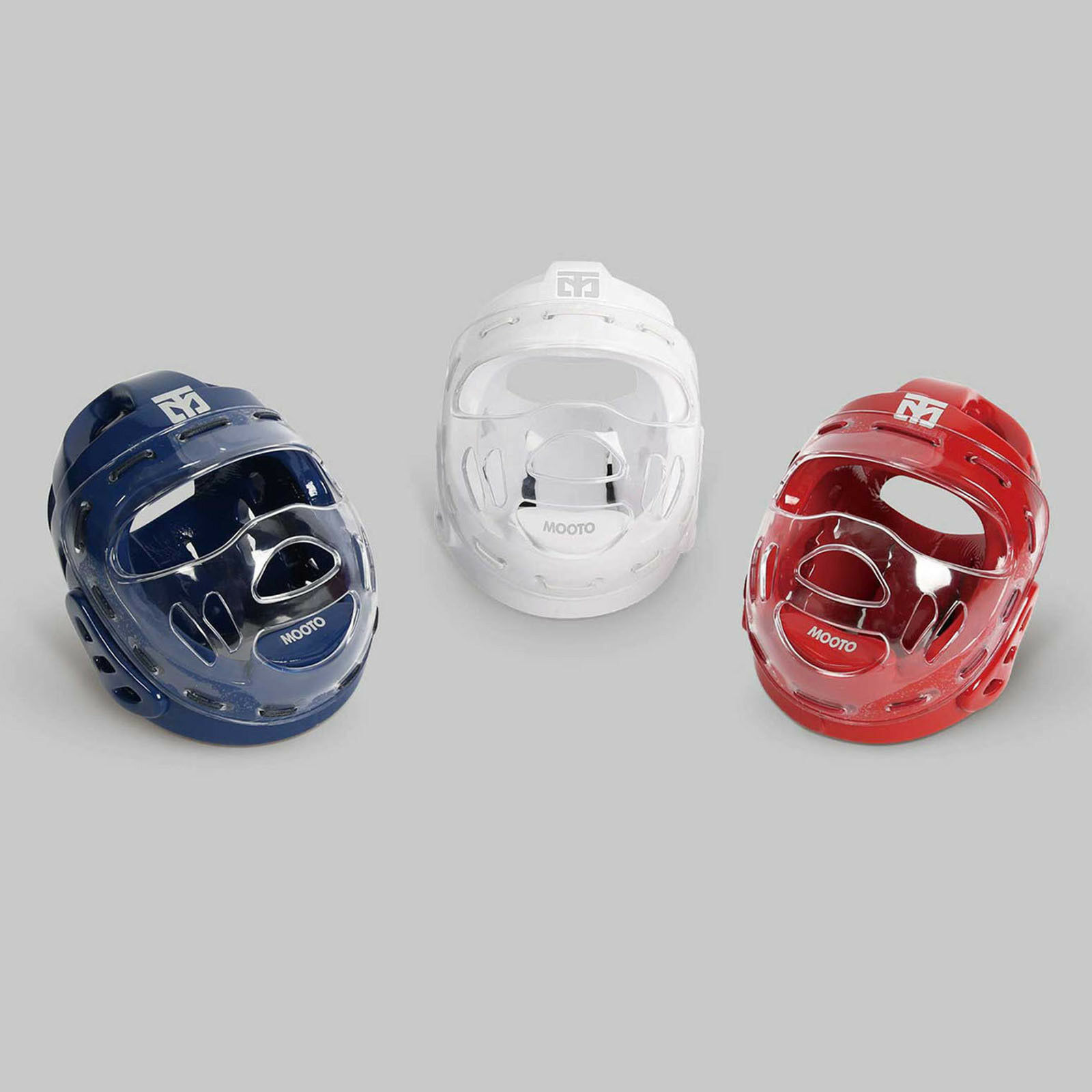Mooto Face Predection Headgear Mask Guard  Sparring Hook & Loop Closures MMA TKD  get the latest