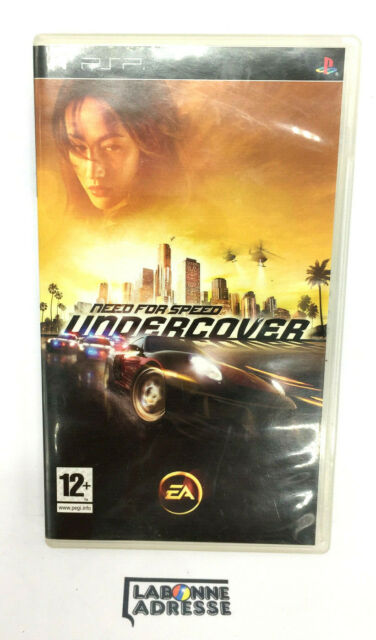 PSP JEU VIDEO NEED FOR SPEED UNDERCOVER - VERSION FRANCAISE - MANQUE NOTICE
