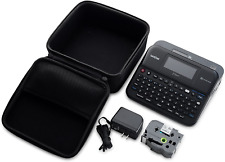 Brother P Touch Ptd600 Ptd210 Label Maker Black Hard Case Shockproof Small New