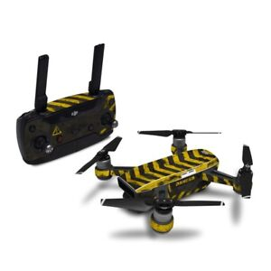 DJI Spark Wrap - EVAC by Drone Squadron - Sticker Skin Decal